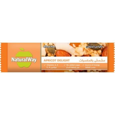 Natural Way Apricot Delight Bar 40g