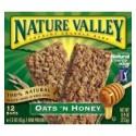 Nature Valley Oats & Honey Granola 12 bars 6x2