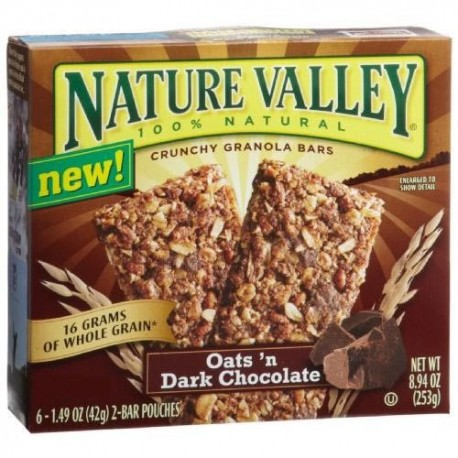 Nature Valley Oats & Chocolates 10 bars 5x2