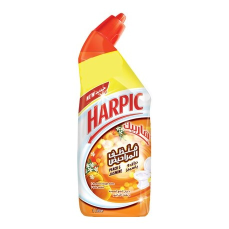 Harpic Peach & Jasmine Toilet Cleaner 750ml