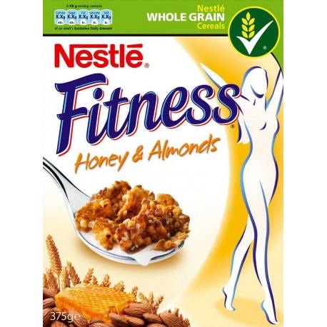 Nestle Fitness Honey & Almonds 355g