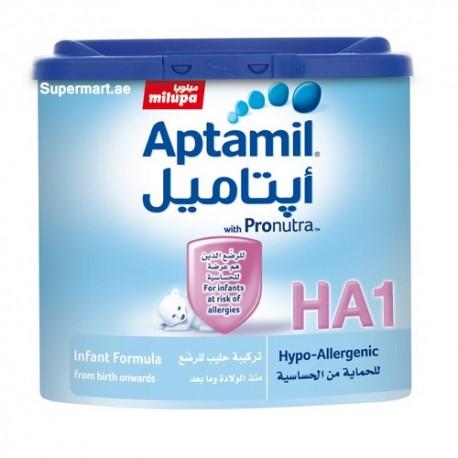 Milupa Aptamil Hypo Allergenic 1 Infant Formula 400g