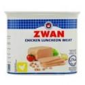 Zwan Chicken Luncheon Meat Hot & Spicy 340g