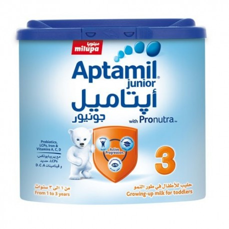 Milupa Aptamil 3 Growing-up Formula for Toddlers 400g