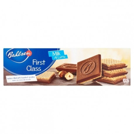 Bahlsen First Class Milk Chocolate Wafers 125g