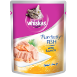 Whiskas Purrfectly Fish with Salmon 85g