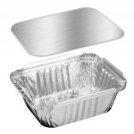 Mapco Aluminium Containers with Lid Small