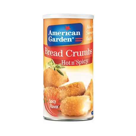 American Garden Bread Crumbs Hot n' Spicy 425g