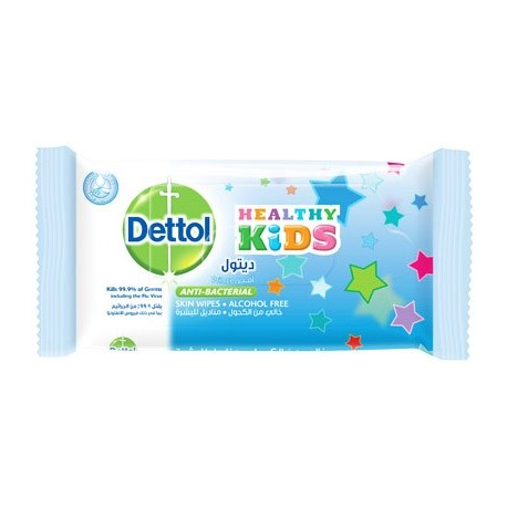 Dettol Healthy Kids Prince Anti-Bacterial Skin Wipes 10pcs