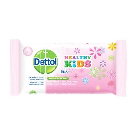 Dettol Healthy Kids Princess Anti-Bacterial Skin Wipes 10pcs