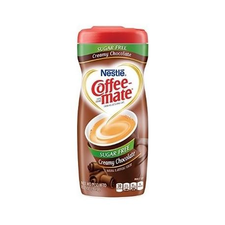 Nestle Coffee Mate Creamy Chocolate Sugar Free 289.1g
