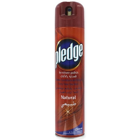 Pledge Furniture Polish Natural 300ml