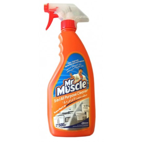 Mr Muscle 5 in1 All Purpose Cleaner Citrus Lime 500ml
