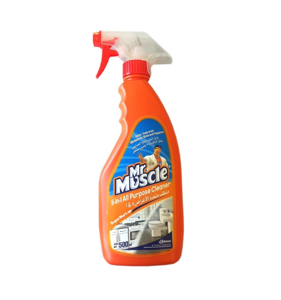 All purpose bathroom cleaner - Mr Muscle 5 In1 All Purpose Cleaner Citrus Lime 500ml