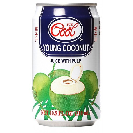 Ice Cool Young Coconut Juice with Pulp 310ml