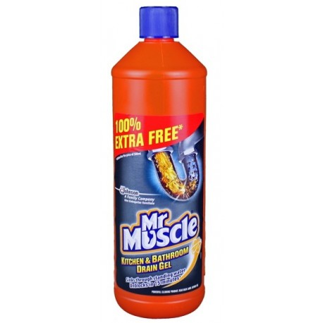 Mr. Muscle Liquid Gel Sink & Drain Cleaner 1L