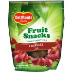 Del Monte Fruit Snacks Cherries 142g
