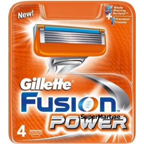 Gillette Fusion Power Cartrige 4