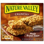 Nature Valley Crunchy Maple Brown Sugar 12 Bars