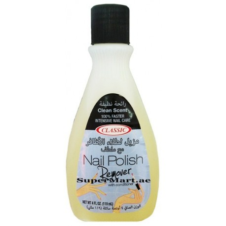 Classic Nail Polish Remover Clean Scent 119ml