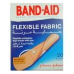 Johnsons Band-Aid Flexible Fabric 20