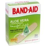 Johnsons Band-Aid Aloe Vera 20