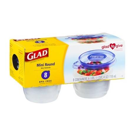 Glad Mini Round Containers 118ml