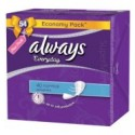 Always Everyday 40 Normal Pantyliners