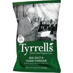 Tyrrell's Hand Cooked English Crisps Sea Salt & Apple Vinegar 150g