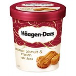 Haagen Dazs Ice Cream Caramel Biscuit & Cream Speculoos 100ml