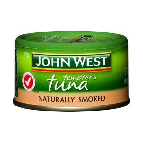 John West Tempters Tuna Naturally Smoked 95g