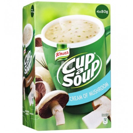 Knorr Cream of Mushroom Cup a Soup 4x80g