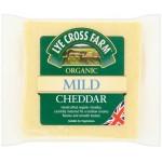 LYE Cross Farm Organic Mild Cheddar Cheese 245g