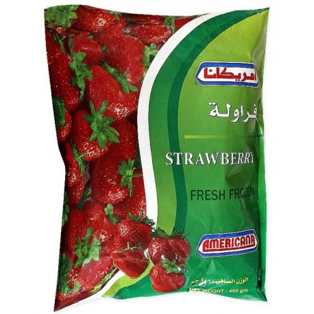 Americana Frozen Strawberry 400g
