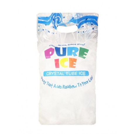 Pure Ice Crystal Tube Ice Pack 1kg