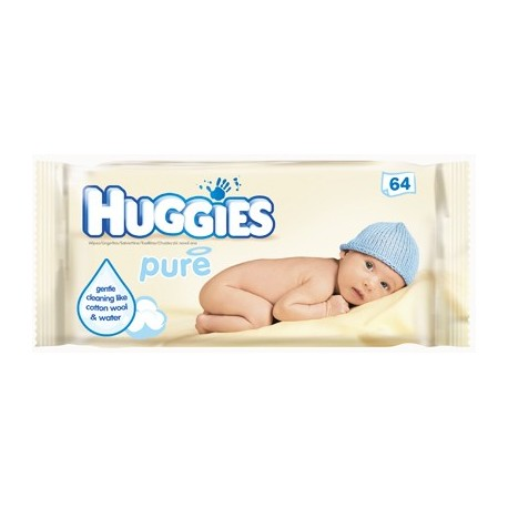 Huggies Pure Baby Wet Wipes 56pcs