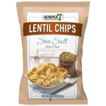 Simply 7 Lentil Chips Sea Salt 113g