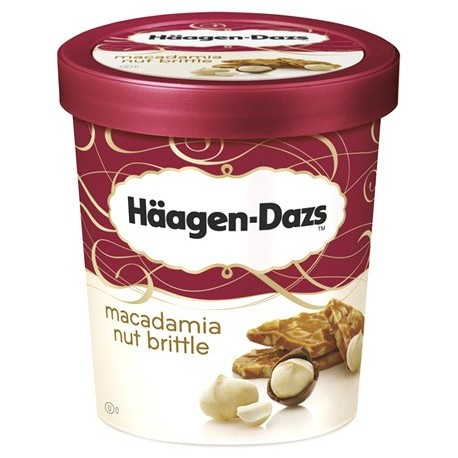 Haagen-Dazs Macadamia Nut Brittle 500ml