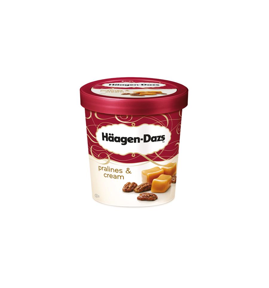 Haagen dazs single serve ice cream