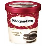 Haagen Dazs Cookies & Vanilla Cream 100ml