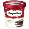 Haagen Dazs Cookies & Vanilla Cream 100ml