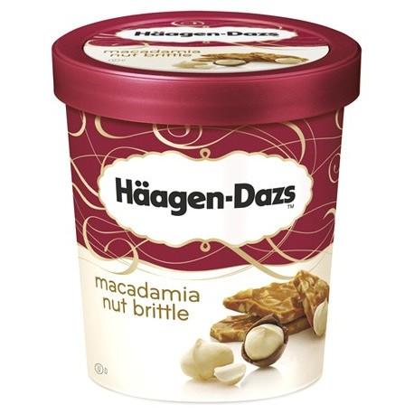Haagen -Dazs Ice Cream Macadamia Nut Brittles 500ml