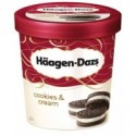 Haagen- Dazs Ice Cream Cookies & Vanilla Cream 500ml