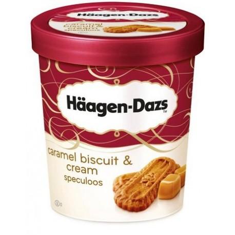 Haagen -Dazs Ice cream Caramel Biscuit & Cream Speculoos 500ml