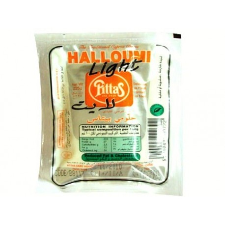 Pittas Halloumi Light Cheese200g