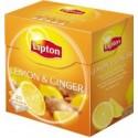 Lipton Black Tea Lemon Ginger 15 Teabags