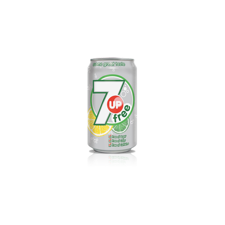 7 Up Free (imported) 330ml