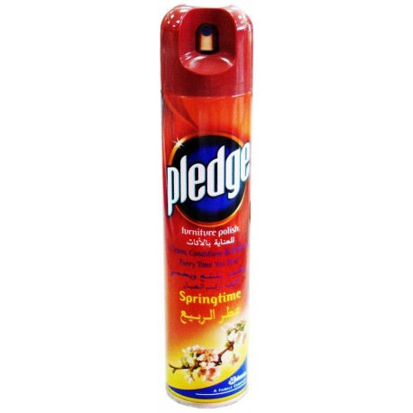 Pledge Springtime Furniture Polish 300ml