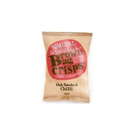 Brown Bag Crisps Oak Smoked Chilli 40g
