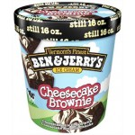 Ben & Jerry's Ice Cream Cheesecake Brownie 473ml